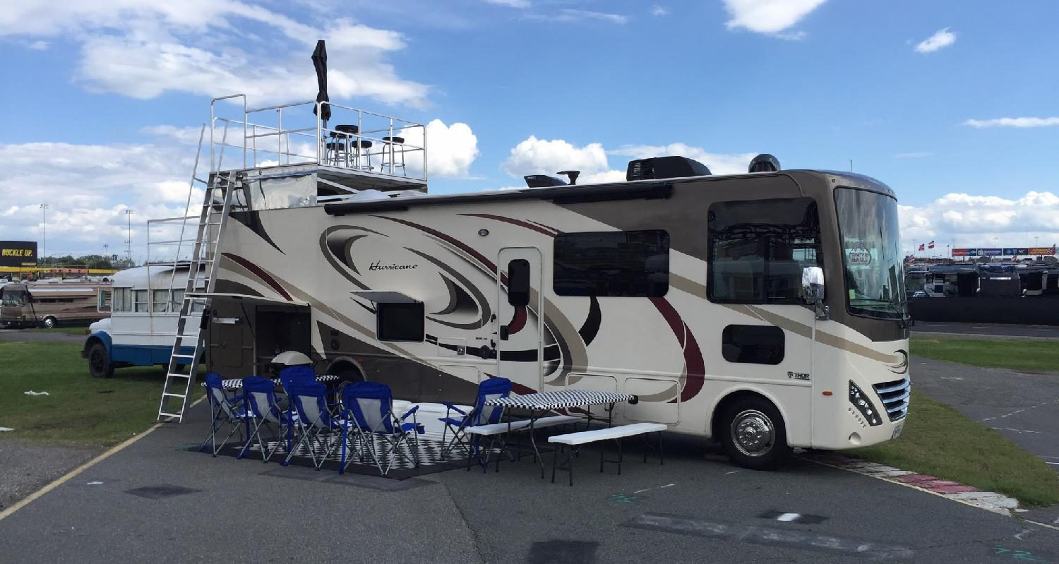 Charlotte all inclusive rv rentals race packages at for Charlotte motor speedway campground