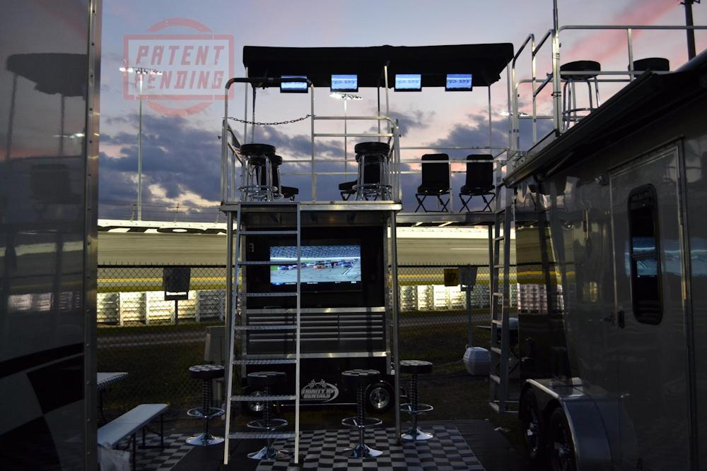 Skybox Infield RV Rentals for Nascar events